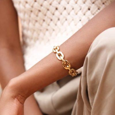 joarii bijoux bracelet keten or porte 5